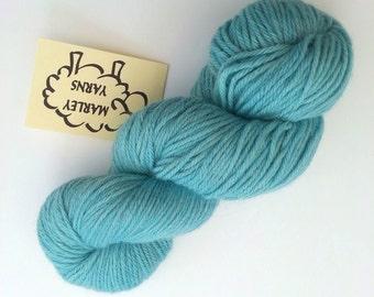 Hand-dyed yarn - Baby Alpaca DK  - 100g - Sky Blue