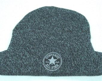 Vintage Converse Beanie Snowcap Grey Hat BA