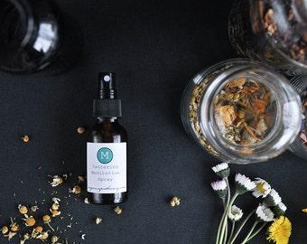 Centering Meditation Spray with Pure Essential Oils (1 oz or 2 oz.)