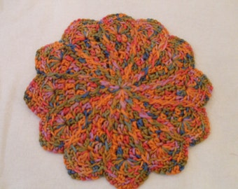 Crocheted Pot Holder