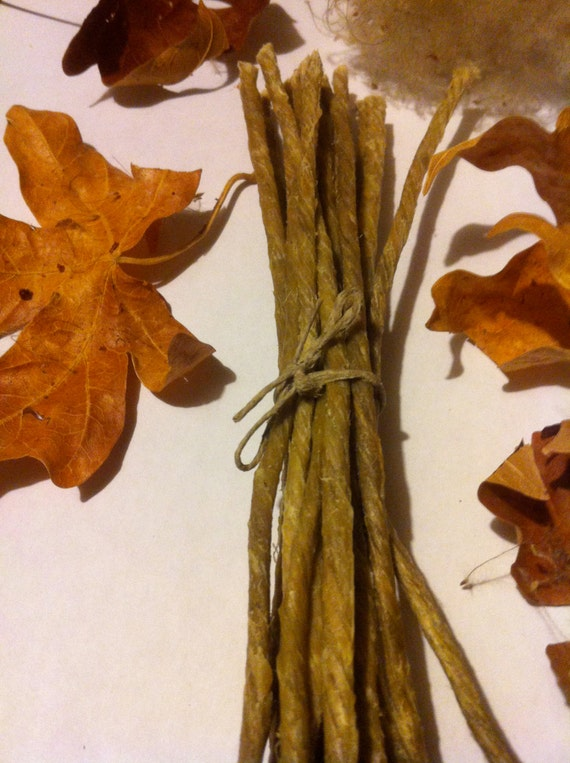 how to make beeswax hemp wick
