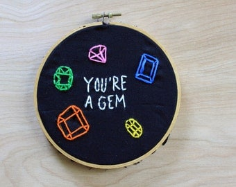 You're a Gem Embroidery