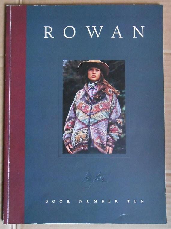 Rowan Knitting Books : Rowan knitting book number ten swallows by gumshoesfatales