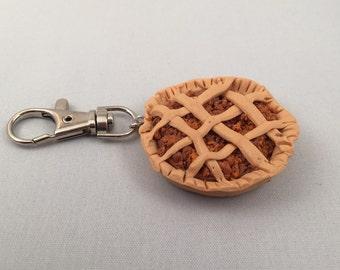 Pecan Pie Keyring