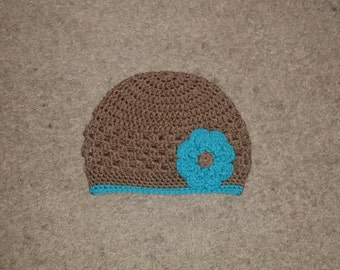 Custom Crochet Cluster Stitch Hat - All sizes/colors available