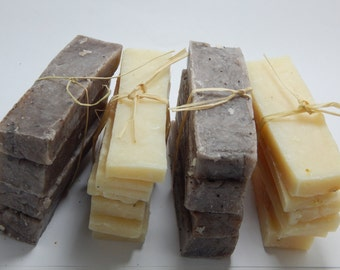 Camping Soap Sticks, SOAP SAMPLES, Homemade soaps, Single Use soaps, Travel size soap, All Natural Handcrafted soaps, Cocoa Butter soap,