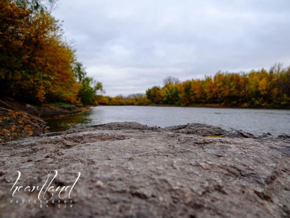 Large Print, Minnesota Art, Blurred Photo, Fall Colors, Autumn Prints, Large Wall Art, Big Pictures, Extra Large Size, Oversized Photograph