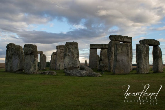 Large Canvas Art, Stonehenge Photo, Panoramic Image, UK Photography, Great Britain, Big Wall Art, Extra Large Decor, United Kingdom