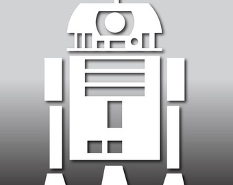 R2D2 Sticker Decal