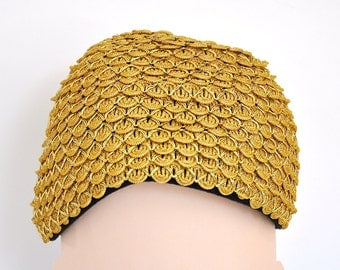 Vintage Gold Women's Hat