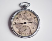 Working Soviet Pocket Watch Retro wind-up watch for men, old russian watch