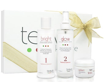 BLACK FRIDAY sale - Anti-Aging Holiday Gift Set - Natural and Organic Ingredients - Brighten and Even Skin Tone - Gift Box Included
