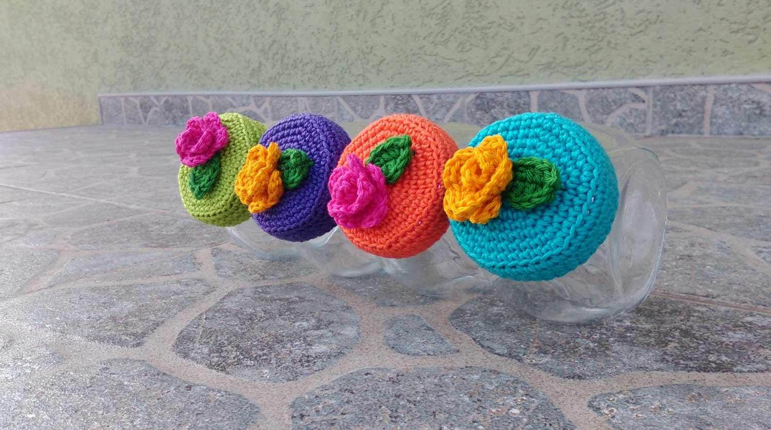 Crochet Patterns Jar Covers : Crochet jar lid covers PATTERN IKEA by CrochetCookies on Etsy