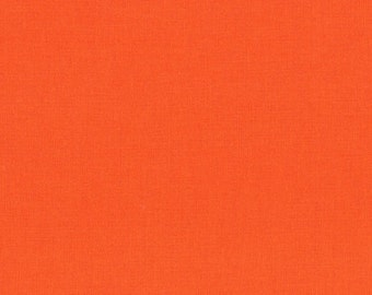Kona Cotton in Carrot - Robert Kaufman (K001-400)