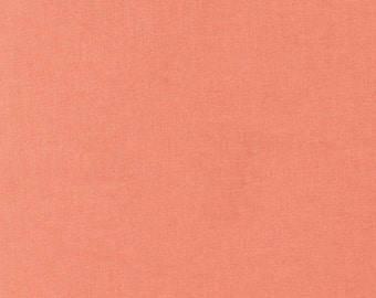 Kona Cotton in Salmon - Robert Kaufman (K001-1483)