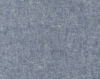 Essex Yarn Dyed in Indigo - Robert Kaufman (E064-1178)