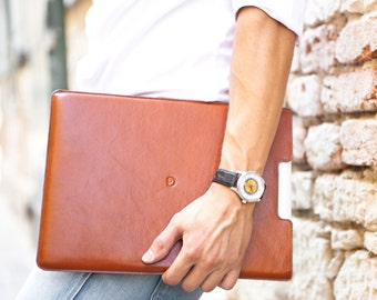 "Leather MacBook Air 13"" Sleeve by Danny P."