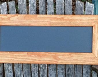 Chalkboard 25 x 10 1/2,Rustic Home Decor,  Wedding Chalkboard, Menu board , black board, Rustic Chalkboard, Chalkboard sign