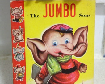 "Vintage Little Castle Childrens Book-JUMBO ""The Sons"
