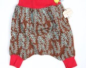 Mrs StrawberryChocolate Harem pants Comfy  Warm Kids Harem UNISEX Myfunnyclothes