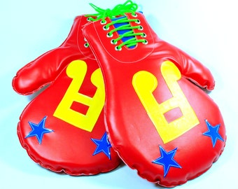 Clown boxing gloves