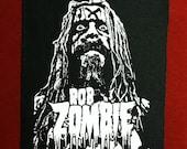 Rob Zombie Cloth Punk Patch