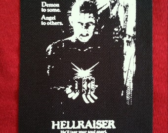 Hellraiser Cloth Punk Patch