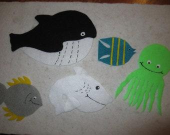 Slippery Fish Felt Story