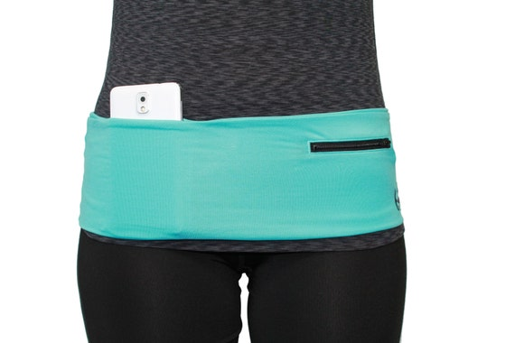 Hip Band/ Fanny Pack/ Waist Pack Turquoise