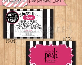 popular items for referral cards on etsy. Black Bedroom Furniture Sets. Home Design Ideas