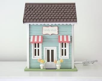 Candy Shop - Casita Night Light - Handmade ** SPECIAL ORDER **