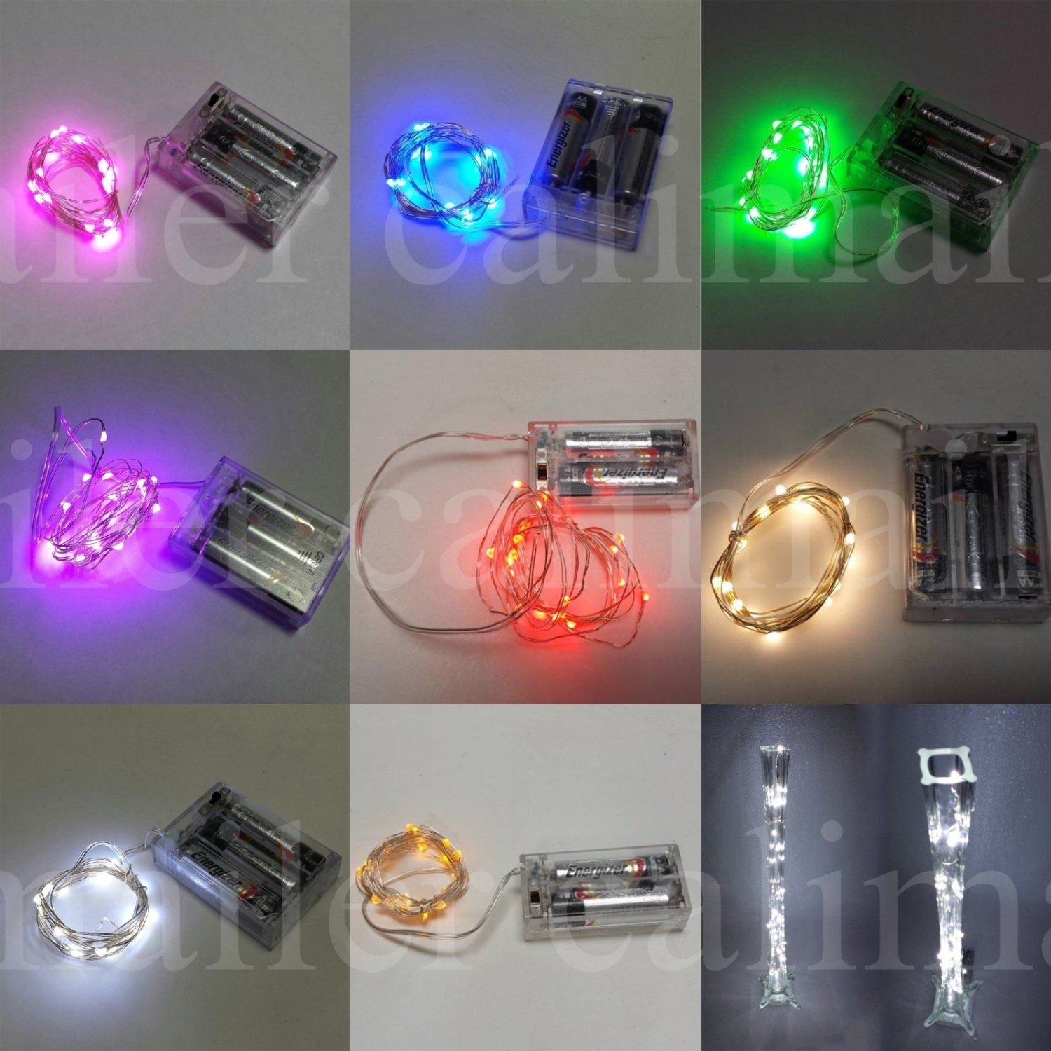 20 String Mini Lights : 20 pieces Mini String light 20 led 7 feet long Waterproof