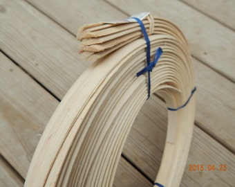 """1/2"""" Flat Oval Reed for Basket Making"""