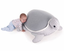 Turtle Beanbag- Grey diamonds (Without filling)