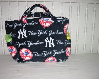New Diaper Bag m/w NY Yankees New York Fabric