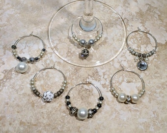 """Wine Glass Charms: """"Pinot Gris"""""""