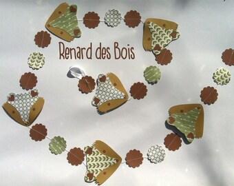 fox garland : Renard des Bois