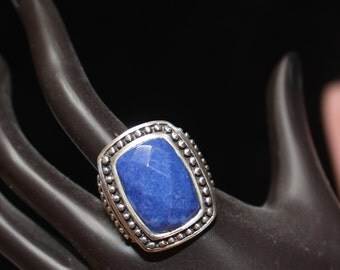 Lapis and Sterling Silver Ring/Mother's Day/Birthday/