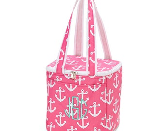 Personalized/Monogram Cooler Bag/Tote, Beach Cooler Tote bag, Anchor Cooler Tote, Seahorse Cooler Tote