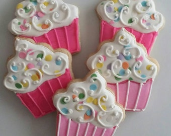 Cupcake Cookies! (By the dozen)