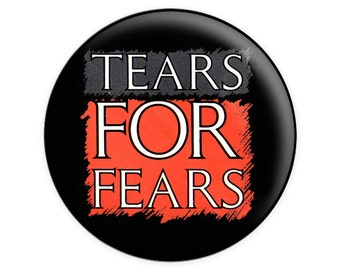 Tears For Fears Logo Pinback Button Or Magnet