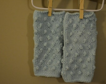 FREE SHIPPING in USA Knit Fingerless Gloves/Mittens