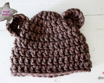 Crochetpattern Bear hat