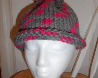 Women's Chunky Cotton Knit Hat