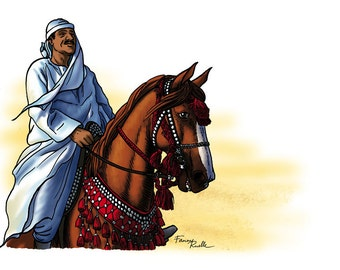 Arab Horseman - limited edition