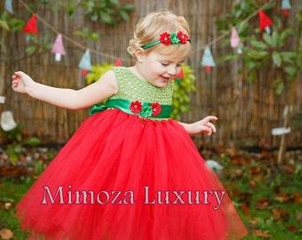 Christmas tutu dress, Pixi elf tutu dress ,crochet tutu dress, santa elf tutu dress, christmas outfit, pixi elf outfit