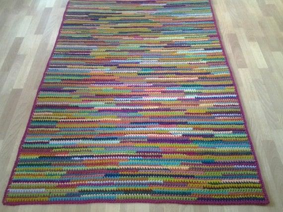 Carrelage Design tapis crochet : ... Crochet tapis/tapis/tapis/zone tapis/tapis/grand/fait main tapis tapis