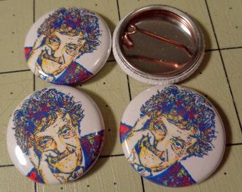 """1"""" Button - Kurt Vonnegut"""