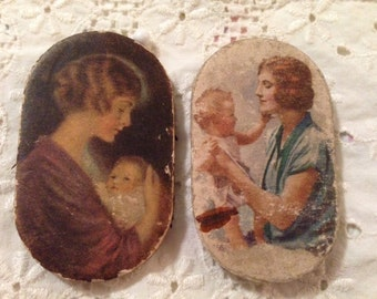 Pair of Vintage Prudential Insurance Pin Cushions