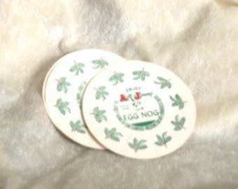 6 All Jersey Farms of San Leandro Egg Nog Lids